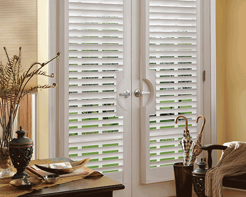 Home Quaker Interior Vinyl Shutters